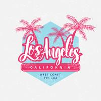 Vintage Los Angeles Vector