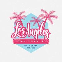 Vetor Vintage Los Angeles