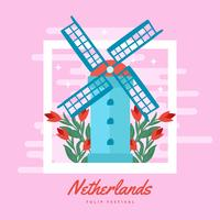 Nederländska tulpanfestivalen