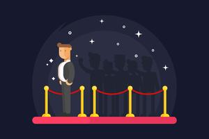 Vectores de Hollywood Red Carpet