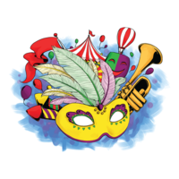 Rio Carnival Vector Illustration