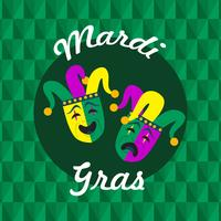 Mardi Gras Parade Illustration