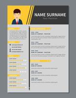 Simple corporate resume