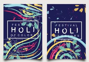 Holi Festival of Colours Poster Design