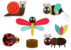 Cute Critter Vector Pack