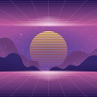 vaporwave bakgrund