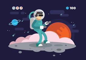 Virtual Reality Experience Vector