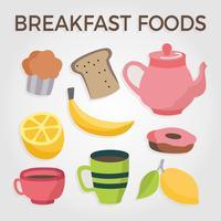 Frukost mat vektor