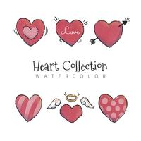 Cute Hearts Collection To Valentine's Day