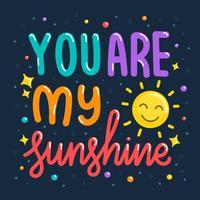 Du är mitt solsken