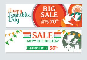 Republic Day Sale Banner