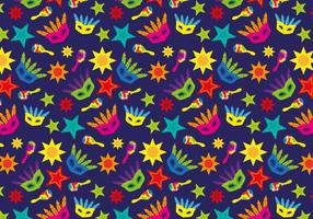 Vector de patrón de Samba Brasil