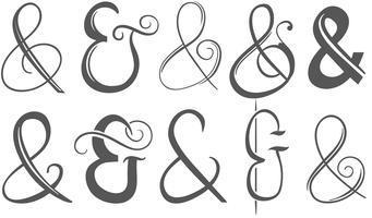 Ampersands Vectors