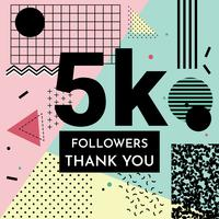 5K Thank You Sign