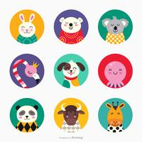 Cute Critters Vector Collection