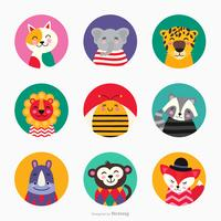 Cute Critters Vector Set