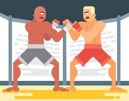 Ultimate Fighting Illustration