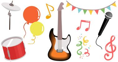 vectores de festivales de música