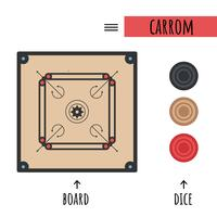 Vector Carrom