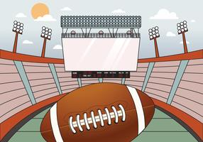 Football Stadium Jumbotron Background