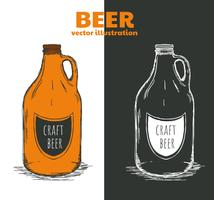 Growler Vector Backgrounds