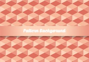 Hexagonal Pattern Background vector