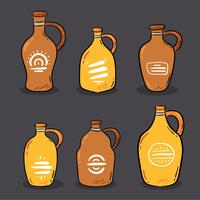 Hand Drawn Growler Vector