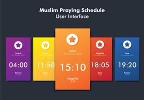 Muslim Prayer UI