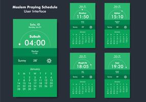 Prayer Reminder App UI