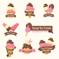 Logotipo de Ice Cream Shop