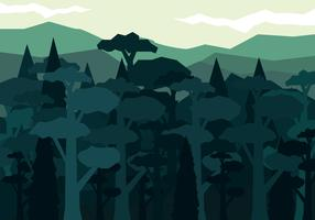 Vector Abstract Forest
