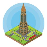 Isometric New York City