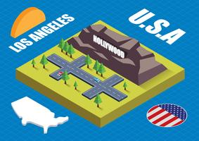 Isometric Los Angeles
