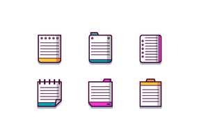 Free Index Card Vector