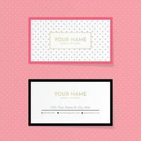 Pois Business Card Template