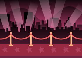 Iconic Hollywood Red Carpet Vectors