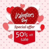 Valentines Day Sale Banner