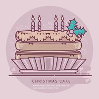 Vector Cake Illustration