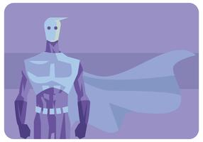 Super Ice Man Vector