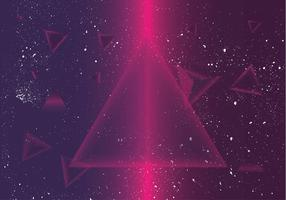 prisma disco background vector
