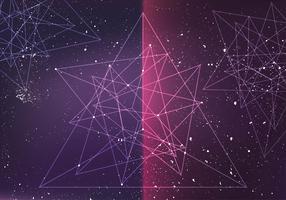 Abstract Prisma Vector Background Vector