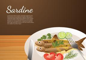 Sardine Food Free Vector