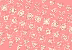 Rhinestone Background Outline Free Vector