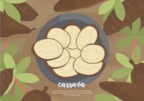 Cassava Background