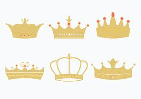 Princesa Crown Set vector
