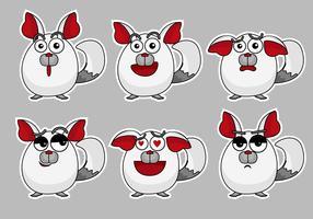 Chinchilla Emoticon Set