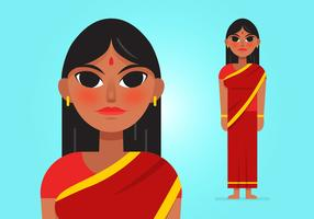 Vector-indian-woman_1