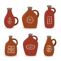 Colored Growler Collection Vector