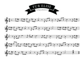 Fur Elise Song of Beethoven