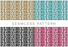 Seamless Geometric Greek Pattern